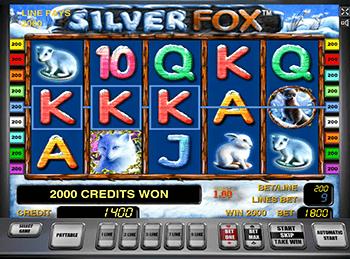 Интерфейс Silver Fox